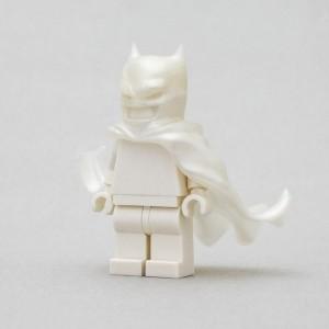 [Golden minifigs] Batman 披風 珍珠白