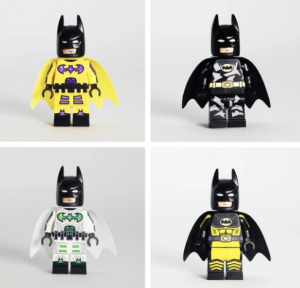 [Outside brick] X [Minifigs Factory] Bat Set
