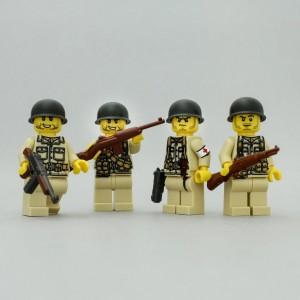 [樂宜樂] 兵人二戰 美軍陸軍小隊 一組四隻