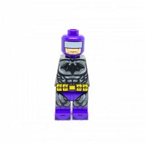 [Golden minifigs] Batman 身體 (複雜款) - 紫色 (欠手部)