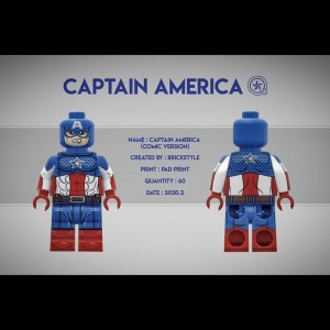 Brickstyle Captain America 2