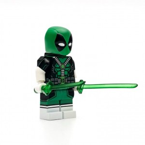 [UG minifigures] Green deadpool