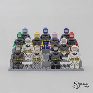 [Golden minifigs] Batman 身體 (複雜款) - 紅色