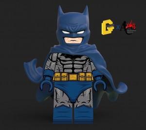 Golden Minifigs Hush Batman Blue