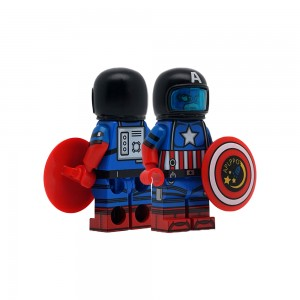 [Dragon Brick] Captain Astronaut