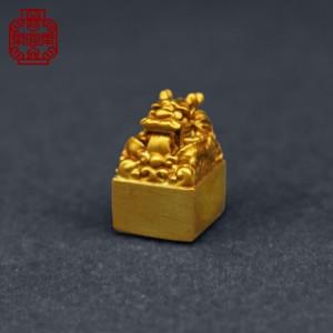 [樂宜樂] 國風 玉璽 金色