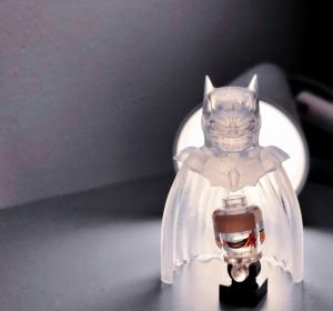 Golden Minifigs Damned Batman 透明披風 頭