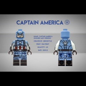 Brickstyle Captain America 3