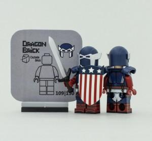 [Dragon brick]  騎士美隊