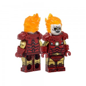 [Minifigs Factory] Iron Ghost Rider